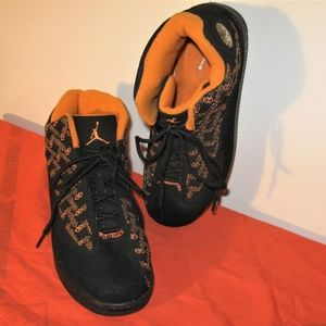 Air Jordans Black & Orange